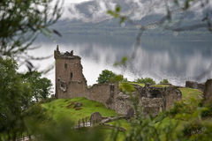 Mystical Urquhart Castle Stock Photos