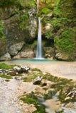 Mystical waterfall I royalty free stock photos