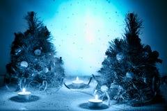Mystical winter Stock Photos