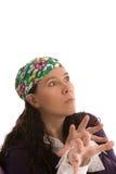 Mystical woman Stock Photos