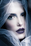 Mystical woman beauty Royalty Free Stock Photos