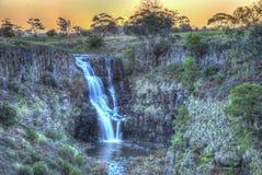 Mystieke waterval stock foto