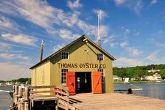 Mystiker, CT: Mystisches Seehafen-Museum lizenzfreie stockfotografie