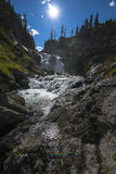 Mystiker fällt Yellowstone Nationalpark lizenzfreie stockfotografie