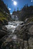 Mystiker faller den Yellowstone nationalparken Royaltyfri Fotografi