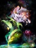 Mystische Blumen Lizenzfreie Stockfotos