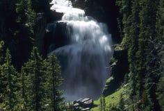 Mystische Fälle, Yellowstone-Staatsangehöriger Lizenzfreie Stockfotos