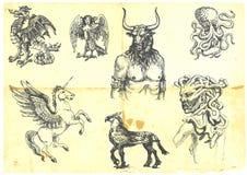 Mystische Geschöpfe vektor abbildung
