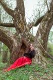 Mystische Hexenfrau Stockbilder