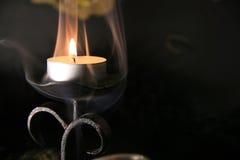 Mystische Kerzen stockfotos