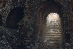 Mystische Leiter Stockfoto