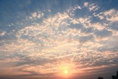 Mystische Wolken Lizenzfreies Stockbild