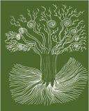 Mystischer Baum Lizenzfreies Stockfoto