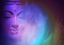 Mystischer Buddha-Hintergrund Lizenzfreie Stockbilder