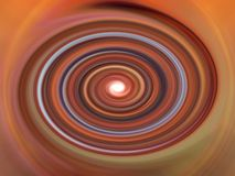 Mystischer Farben-Strudel Stockbild