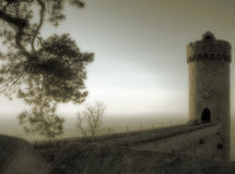 Mystischer Kontrollturm Lizenzfreies Stockfoto