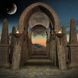 Mystischer Platz stock abbildung
