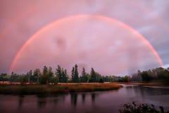 Mystischer Regenbogen Lizenzfreies Stockbild