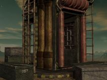 Mystischer Sciencefictions-Hintergrund Lizenzfreie Stockbilder