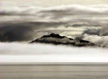 Mystisches Alaska stockbilder