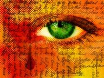 Mystisches Auge stockbilder
