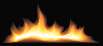 Mystisches Feuer Lizenzfreie Stockbilder