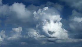Mystisches Gesicht stockfoto