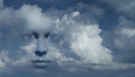 Mystisches Gesicht vektor abbildung