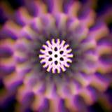 Mystisches glänzendes Rad mit Farbabweichungen Stockbild