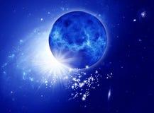 Mystisches Universum lizenzfreie abbildung