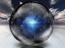 mystisk energi stock illustrationer