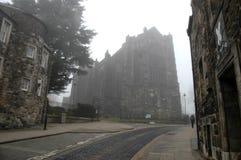 Mystisk gammal stad för Stirling ` s Arkivbild