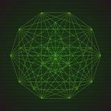 Mystisk geometri Royaltyfri Bild