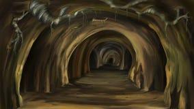mystisk grotta Royaltyfria Bilder