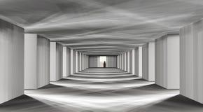 mystisk korridor Arkivfoto