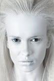 Mystisk kvinna Fotografering för Bildbyråer