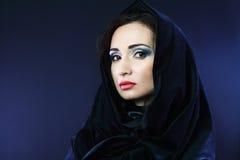 mystisk kvinna royaltyfria foton