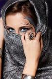 mystisk kvinna för muslim royaltyfri foto