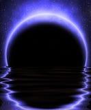 Mystisk moon vektor illustrationer