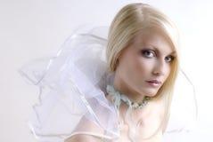 mystisk sight för flicka Fotografering för Bildbyråer