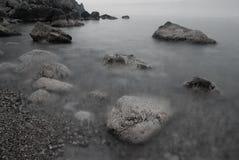 Mystisk strand Royaltyfri Bild