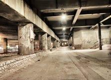 Mystisk tunnel Arkivfoton