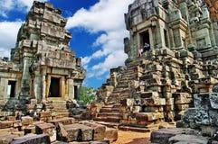 Mystiska Cambodja Arkivfoto