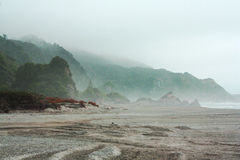 Mystiska Nya Zeeland Arkivfoto