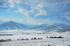 mystiskt berg Royaltyfria Foton