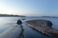 mystiskt hav Royaltyfri Foto
