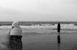 mystiskt hav Fotografering för Bildbyråer