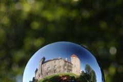 mystiskt slott Arkivbild