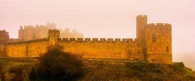 mystiskt slott Fotografering för Bildbyråer