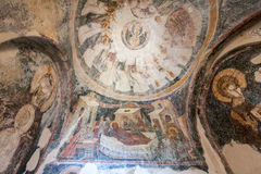 Mystras Agia Sophia Convent Royalty Free Stock Image